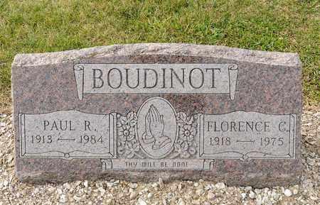BOUDINOT, FLORENCE C - Richland County, Ohio | FLORENCE C BOUDINOT - Ohio Gravestone Photos