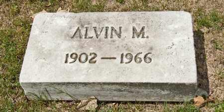 BOURGEOIS, ALVIN M - Richland County, Ohio | ALVIN M BOURGEOIS - Ohio Gravestone Photos