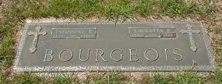 BOURGEOIS, THEODORE E - Richland County, Ohio | THEODORE E BOURGEOIS - Ohio Gravestone Photos
