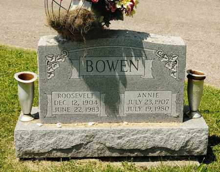 BOWEN, ANNIE - Richland County, Ohio | ANNIE BOWEN - Ohio Gravestone Photos