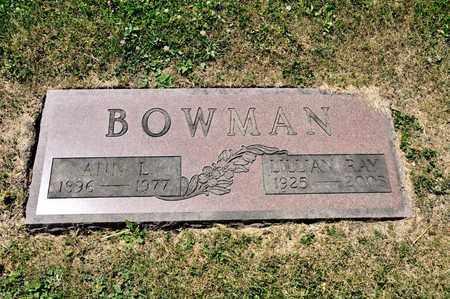 BOWMAN, ANN L - Richland County, Ohio | ANN L BOWMAN - Ohio Gravestone Photos
