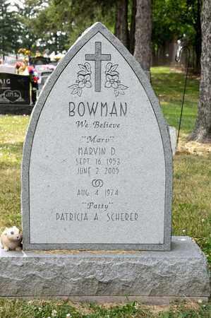 BOWMAN, MARVIN D - Richland County, Ohio   MARVIN D BOWMAN - Ohio Gravestone Photos