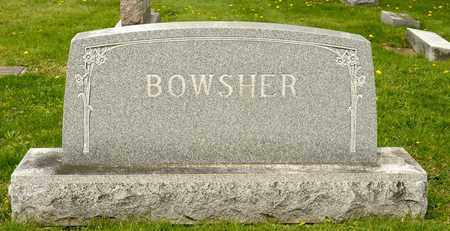 BOWSHER, WALTER C - Richland County, Ohio   WALTER C BOWSHER - Ohio Gravestone Photos