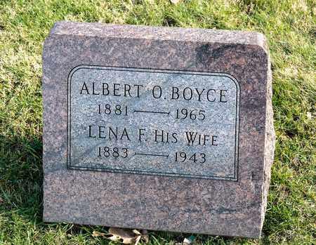 BOYCE, ALBERT O - Richland County, Ohio   ALBERT O BOYCE - Ohio Gravestone Photos
