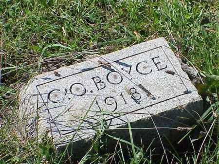 BOYCE, CLARK OMAR - Richland County, Ohio   CLARK OMAR BOYCE - Ohio Gravestone Photos