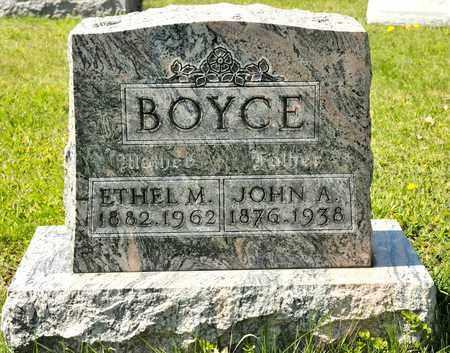 BOYCE, JOHN A - Richland County, Ohio | JOHN A BOYCE - Ohio Gravestone Photos