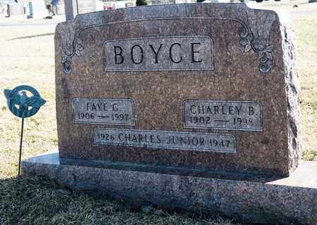 BOYCE, FAYE G - Richland County, Ohio | FAYE G BOYCE - Ohio Gravestone Photos