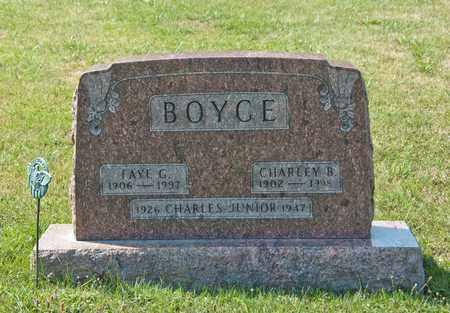 BOYCE, CHARLEY B - Richland County, Ohio | CHARLEY B BOYCE - Ohio Gravestone Photos