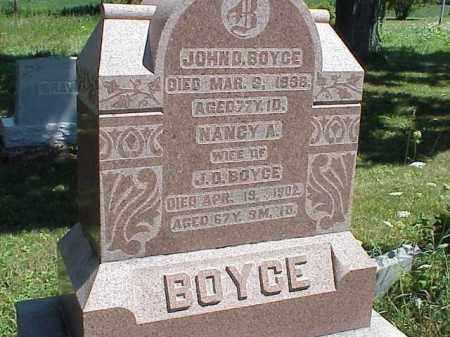 BOYCE, JOHN D. - Richland County, Ohio | JOHN D. BOYCE - Ohio Gravestone Photos