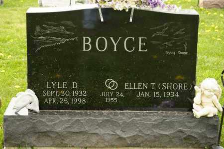 BOYCE, LYLE D - Richland County, Ohio   LYLE D BOYCE - Ohio Gravestone Photos