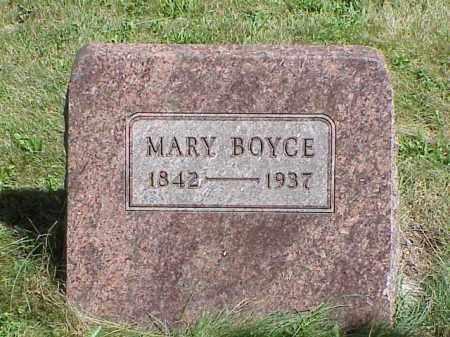 BOYCE, MARY - Richland County, Ohio | MARY BOYCE - Ohio Gravestone Photos