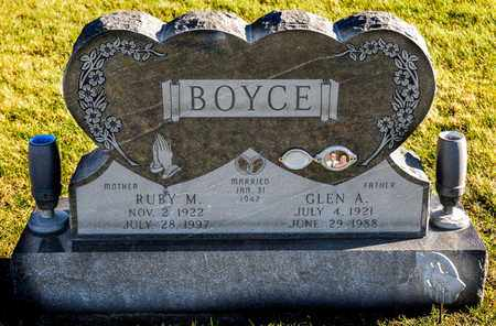 BOYCE, GLEN A - Richland County, Ohio | GLEN A BOYCE - Ohio Gravestone Photos