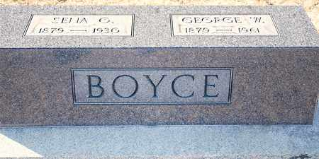 BOYCE, SENA O - Richland County, Ohio | SENA O BOYCE - Ohio Gravestone Photos