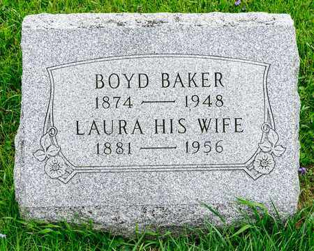 BOYD, BAKER - Richland County, Ohio | BAKER BOYD - Ohio Gravestone Photos