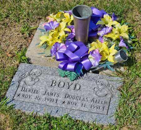 BOYD, DANIEL JAMES - Richland County, Ohio | DANIEL JAMES BOYD - Ohio Gravestone Photos