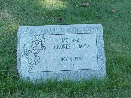 BOYD, DOLORES J. - Richland County, Ohio   DOLORES J. BOYD - Ohio Gravestone Photos