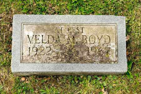 BOYD, VELDA M - Richland County, Ohio   VELDA M BOYD - Ohio Gravestone Photos