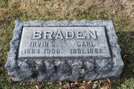 BRADEN, CARL - Richland County, Ohio | CARL BRADEN - Ohio Gravestone Photos