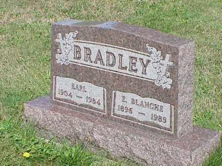 BRADLEY, E. BLANCHE - Richland County, Ohio | E. BLANCHE BRADLEY - Ohio Gravestone Photos