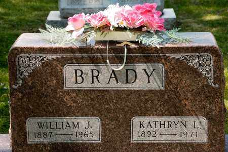 BRADY, WILLIAM J - Richland County, Ohio | WILLIAM J BRADY - Ohio Gravestone Photos