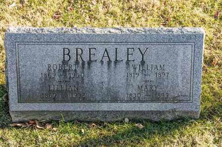BREALEY, MARY - Richland County, Ohio | MARY BREALEY - Ohio Gravestone Photos