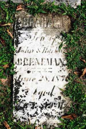 BRENEMAN, ABRAHAM - Richland County, Ohio | ABRAHAM BRENEMAN - Ohio Gravestone Photos