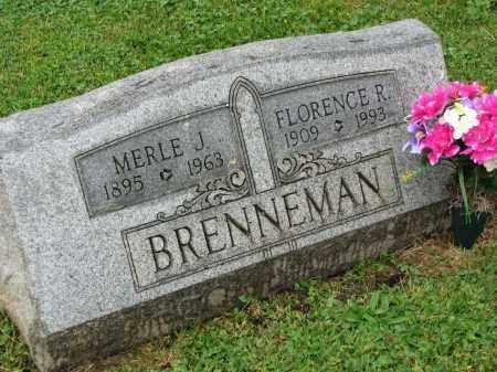 BRENNEMAN, FLORENCE R. - Richland County, Ohio   FLORENCE R. BRENNEMAN - Ohio Gravestone Photos