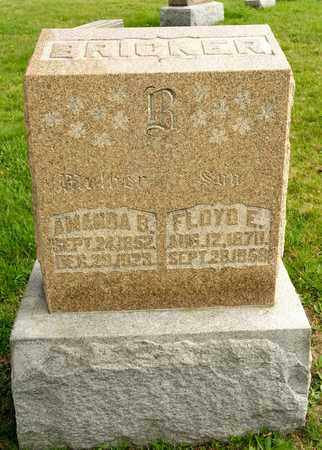 BRICKER, FLOYD E - Richland County, Ohio | FLOYD E BRICKER - Ohio Gravestone Photos