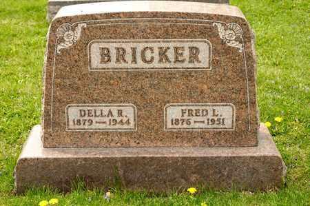 BRICKER, DELLA R - Richland County, Ohio   DELLA R BRICKER - Ohio Gravestone Photos