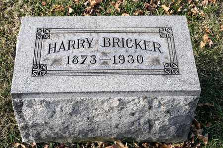 BRICKER, HARRY - Richland County, Ohio   HARRY BRICKER - Ohio Gravestone Photos