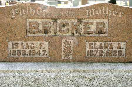 BRICKER, CLARA A - Richland County, Ohio | CLARA A BRICKER - Ohio Gravestone Photos