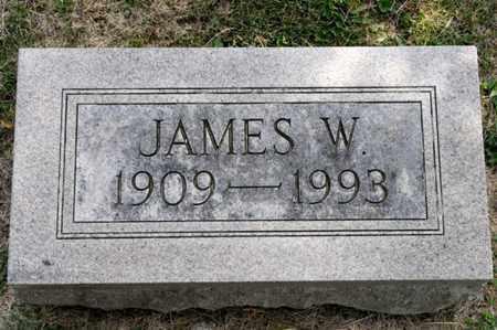 BRICKER, JAMES W - Richland County, Ohio | JAMES W BRICKER - Ohio Gravestone Photos