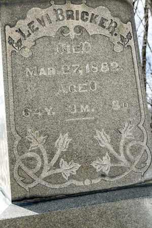 BRICKER, LEVI - Richland County, Ohio   LEVI BRICKER - Ohio Gravestone Photos