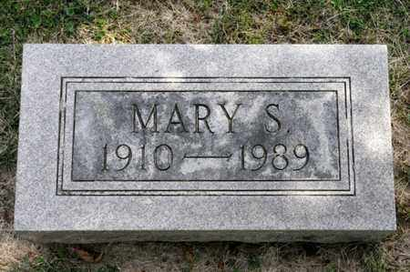 BRICKER, MARY S - Richland County, Ohio | MARY S BRICKER - Ohio Gravestone Photos