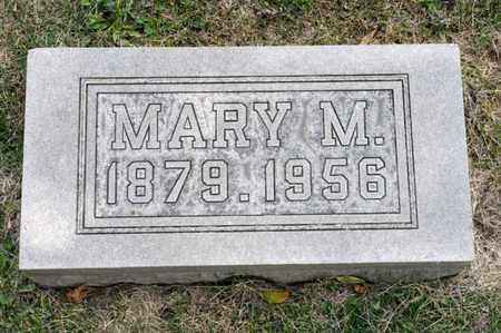 BRICKER, MARY M - Richland County, Ohio | MARY M BRICKER - Ohio Gravestone Photos
