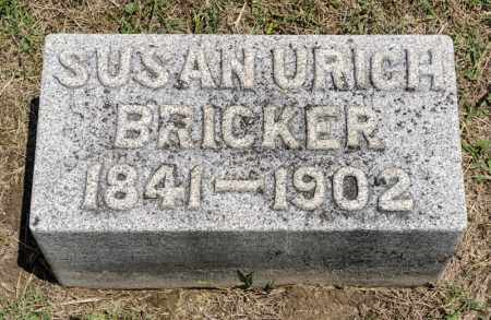 BRICKER, SUSAN - Richland County, Ohio | SUSAN BRICKER - Ohio Gravestone Photos