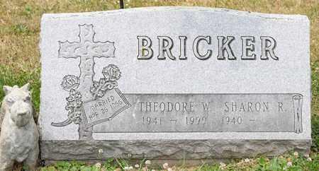 BRICKER, THEODORE W - Richland County, Ohio | THEODORE W BRICKER - Ohio Gravestone Photos