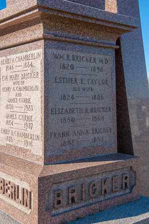 TAYLOR BRICKER, ESTHER E - Richland County, Ohio | ESTHER E TAYLOR BRICKER - Ohio Gravestone Photos