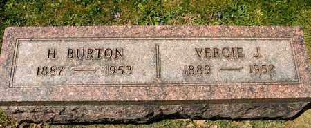 BRICKLEY, H BURTON - Richland County, Ohio   H BURTON BRICKLEY - Ohio Gravestone Photos