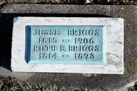 BRIGGS, JESSE - Richland County, Ohio | JESSE BRIGGS - Ohio Gravestone Photos