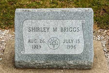 BRIGGS, SHIRLEY M - Richland County, Ohio   SHIRLEY M BRIGGS - Ohio Gravestone Photos