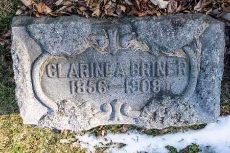 BRINER, CLARINDA - Richland County, Ohio | CLARINDA BRINER - Ohio Gravestone Photos