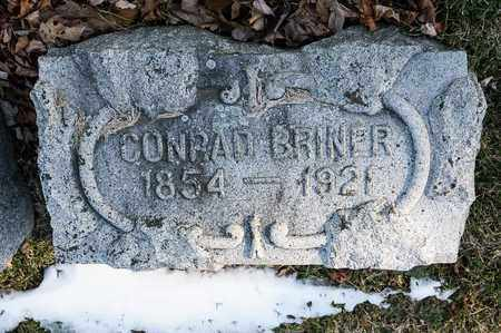 BRINER, CONRAD - Richland County, Ohio | CONRAD BRINER - Ohio Gravestone Photos