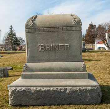 BRINER, JACOB - Richland County, Ohio | JACOB BRINER - Ohio Gravestone Photos