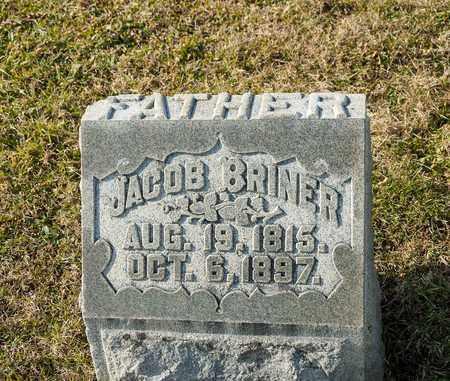 BRINER, JACOB - Richland County, Ohio   JACOB BRINER - Ohio Gravestone Photos