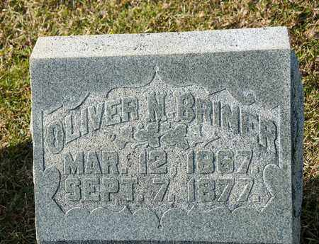 BRINER, OLIVER N - Richland County, Ohio | OLIVER N BRINER - Ohio Gravestone Photos