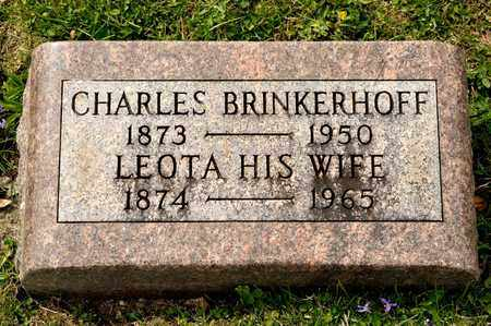 BRINKERHOFF, LEOTA - Richland County, Ohio | LEOTA BRINKERHOFF - Ohio Gravestone Photos