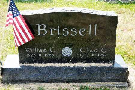 BRISSELL, WILLIAM C - Richland County, Ohio | WILLIAM C BRISSELL - Ohio Gravestone Photos