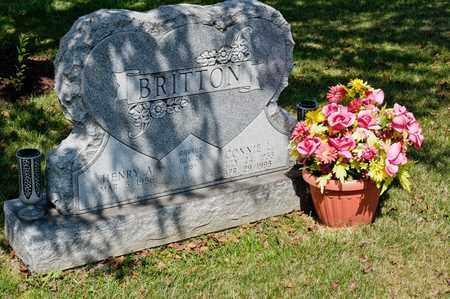 BRITTON, CONNIE L - Richland County, Ohio | CONNIE L BRITTON - Ohio Gravestone Photos