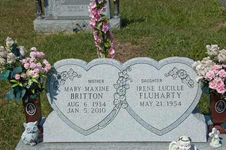 BRITTON, MARY MAXINE - Richland County, Ohio | MARY MAXINE BRITTON - Ohio Gravestone Photos